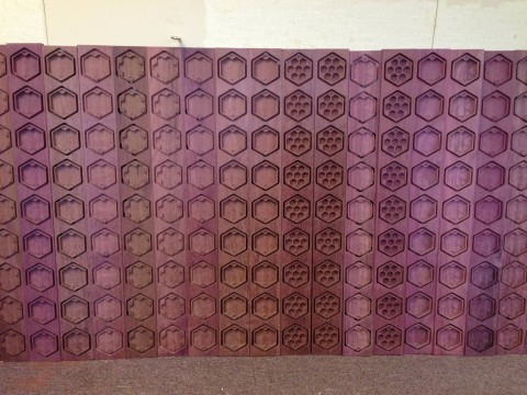 Lots of purpleheart Hex Chests