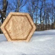 Birdseye Hex Chest in the Snow