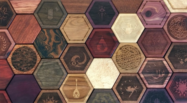 An assortment of Hex Chests