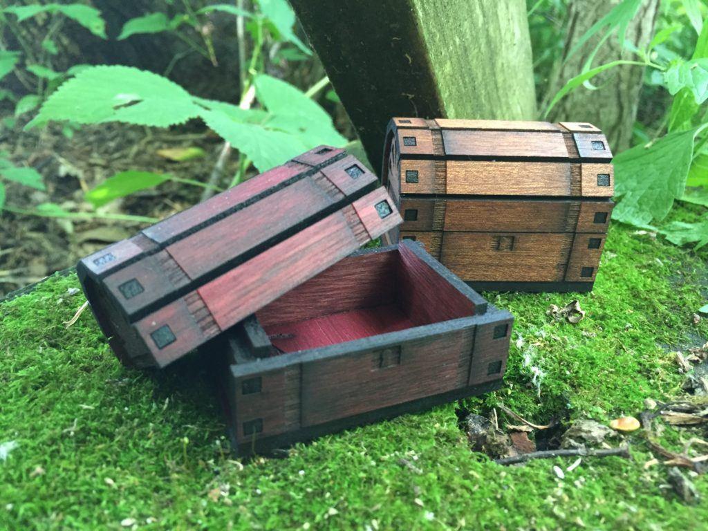 treasure chest woods