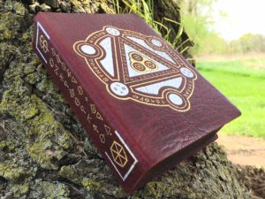 Custom pressed Spellbook RPG Gaming Box