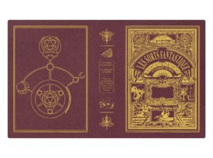 Custom Spellbook art - Les Sorts Fantastique