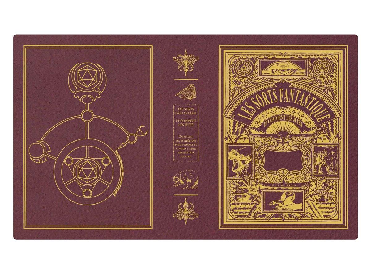 Custom Spellbook art - Les Sorts Fantastique