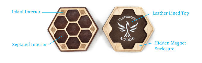 Hex Chest Remastered Dice Box Features