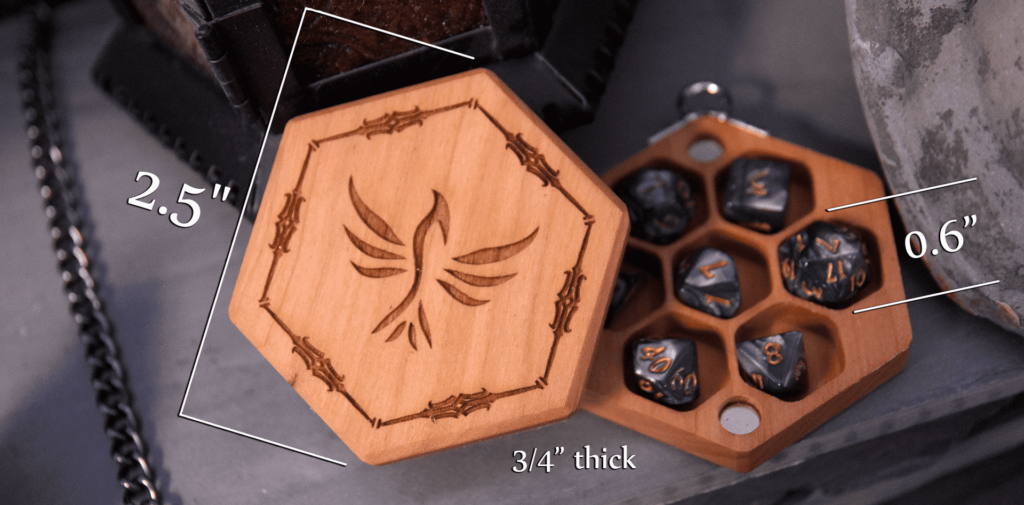 Hex Chest Mini Dimensions