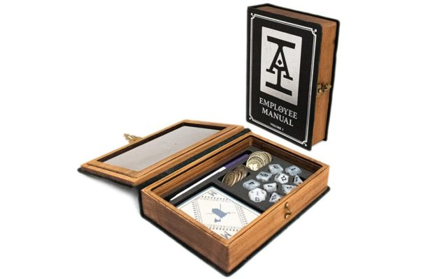 Acquisitions Incorporated Spellbook Interior