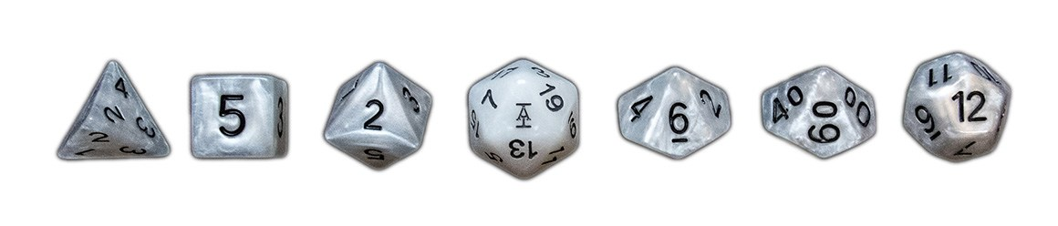Acquisitions Incorporated Seven Piece Dice Set