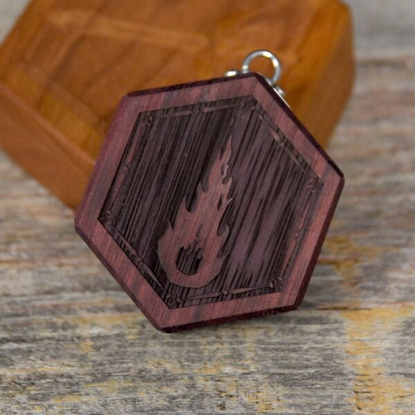 Hex Chest Mini - Purpleheart Fireball
