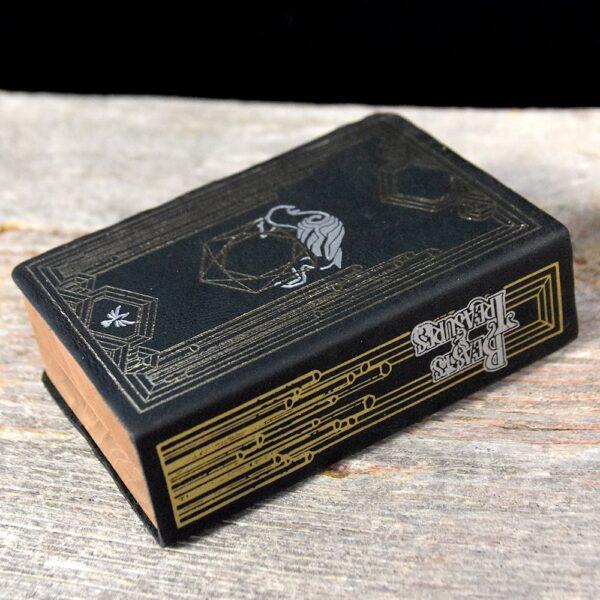 Mini Spellbook RPG Gaming Box - Beasts and Treasures Art