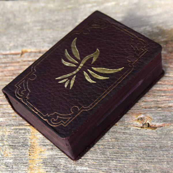 Mini Spellbook RPG Gaming Box - Purpleheart