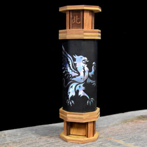 Codex Dice Tower Holographic Griffin Art