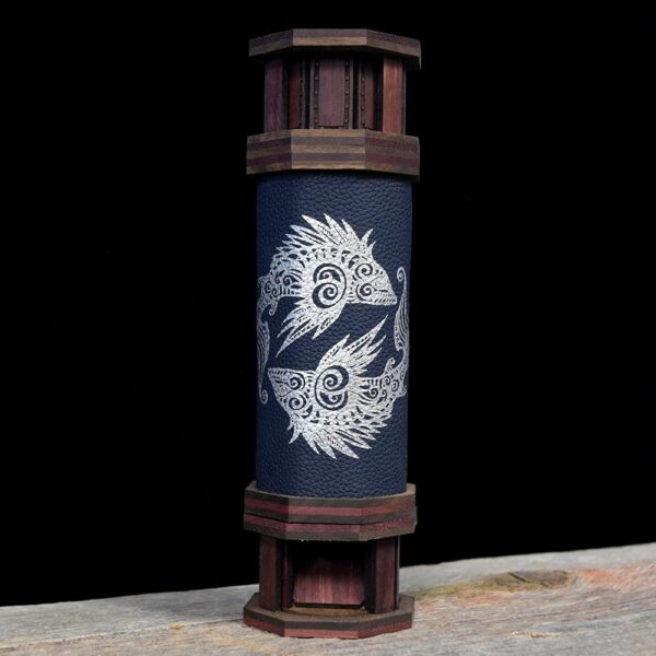 Codex Dice Tower Silver Pisces Art
