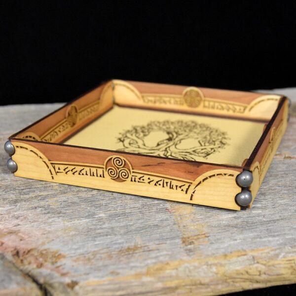 Scroll Rolling Tray with Yggdrasil Art