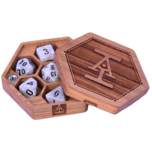 Acquisitions Incorporated Hex Chest Dice Box